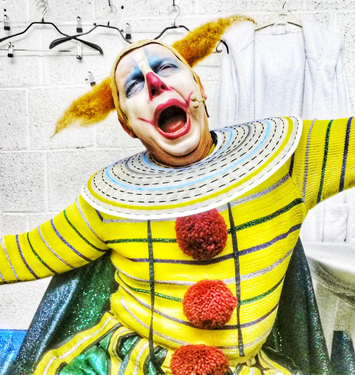 Vladimir Stoyanov in Rigoletto costume, Bregenz 2021